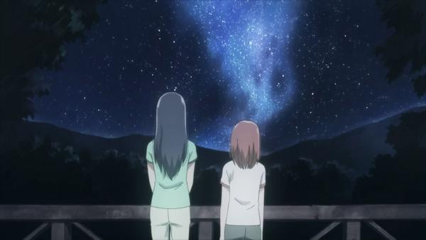 ... und die Sterne.
